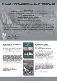 Vermont Studies on Nazi Germany and the Holocaust Series Flyer