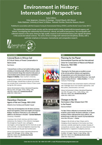Environment in History: International Perspectives Flyer