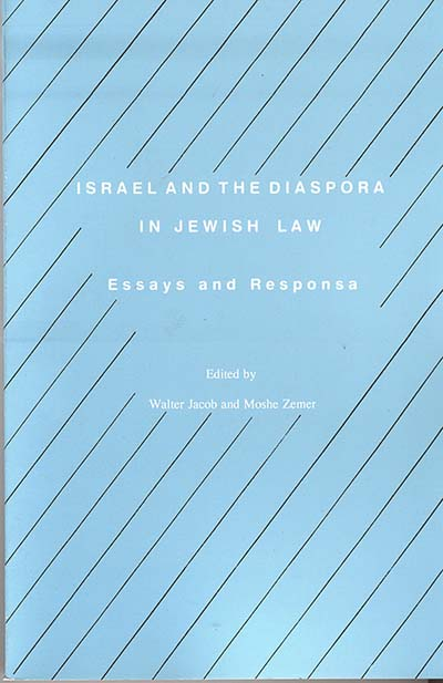 Israel and the Diaspora in Jewish Law